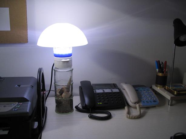 充电器 酒瓶 食品罐 led=diy创意台灯(1)