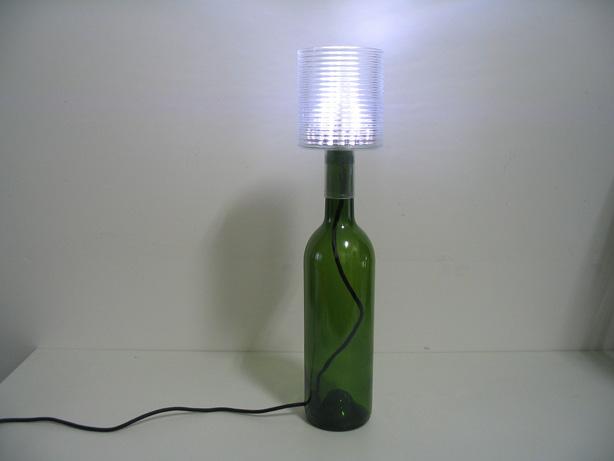 充电器 酒瓶 笔筒 led=创意台灯(2)