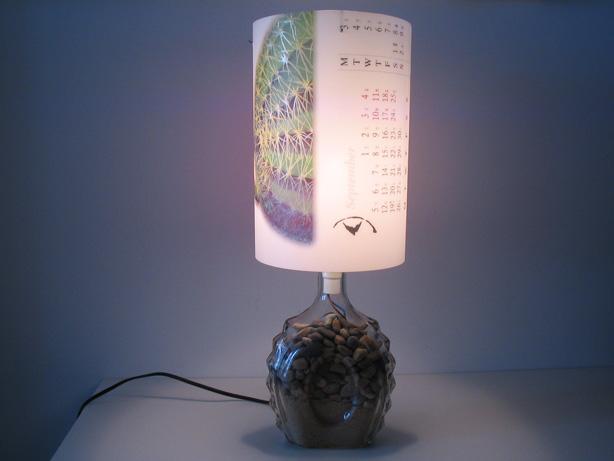 幼儿园自制台灯